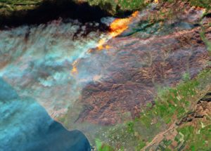 Images of the Devastating Californian Wildfires have been Published by NASA