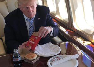 President Trump's Eating Habits are Not Healthy