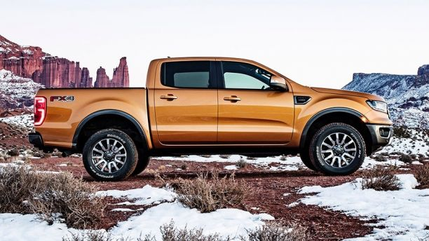 Ford reveals facelifted Ranger in USA  guise