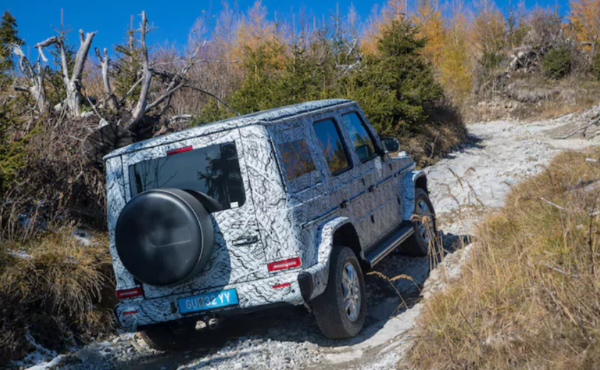 The Next-Gen Mercedes G-Class will be Revealed at the 2018 Detroit Auto Show
