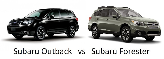 Subaru Forester vs. Subaru Outback - Best 2018 Edition Comparison ...