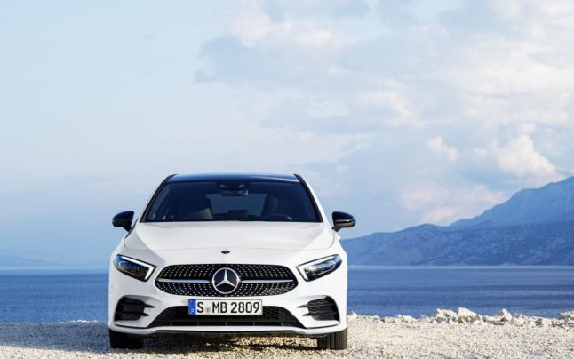 Mercedes-Benz A-Class supports vehicle sharing with 'friends and family'