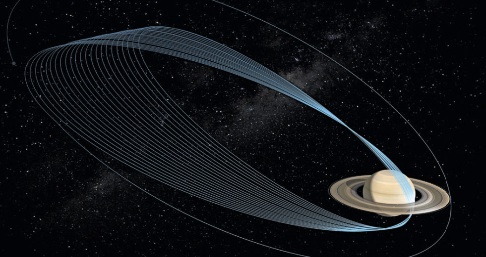 Pictures Shows us Where NASA's Cassini Spacecraft Made a ...