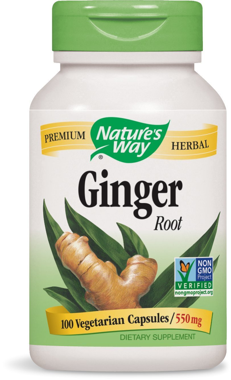 Amazon Com Natures Way Ginger Root