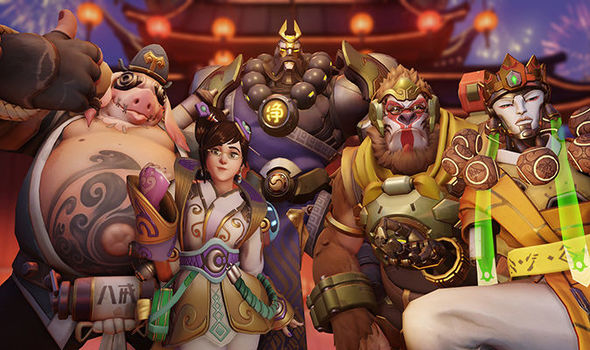 Overwatch Lunar New Year skins revealed