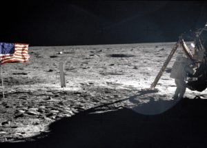 What did NASA find on the Lunar Surface?