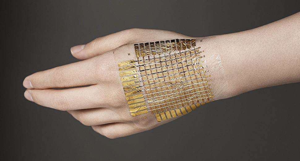 This 'e-skin' is malleable, self-healable, recyclable