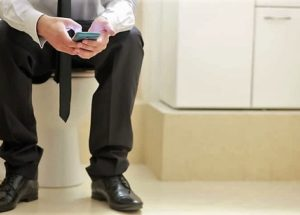 His Rectum Fell Out As He Was Playing On His Phone On The Toilet