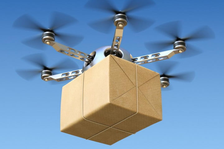 Amazon Patents Waving At Drone To Bring A Package