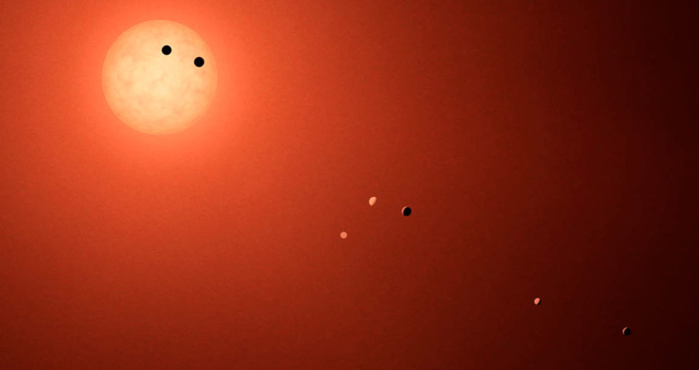 Super-Earth that may host water among 15 new planets discovered