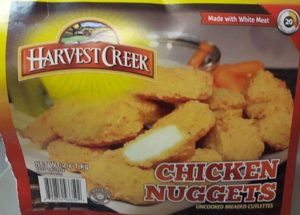 Salmonella Outbreak In Canada – Erie Meat Products Recalled Contaminated Harvest Creek Chicken Nuggets products