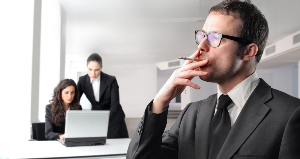 Nonsmokers want time off to make up for co-workers' cigarette breaks