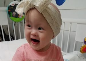 A Baby Girl With Down Syndrome Beat Cancer Twice Before Celebrating Her 2 Years Anniversary