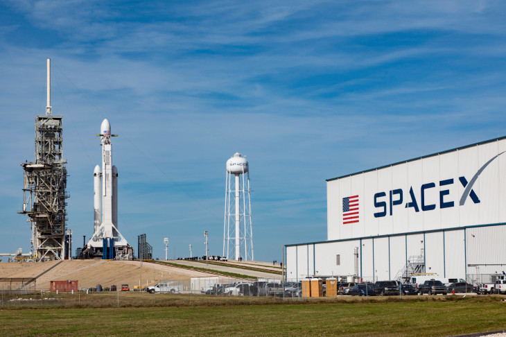 Falcon 9 Block 5 poised for launch at Kennedy Space Center