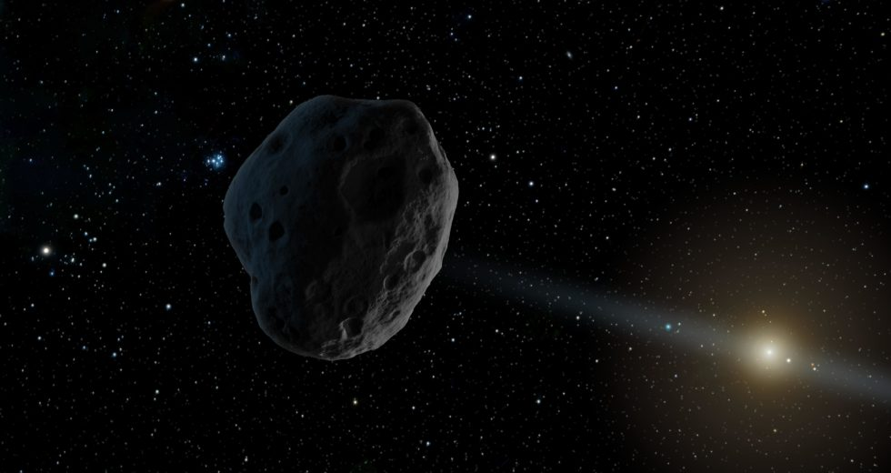 Lost asteroid to fly between moon and Earth tonight