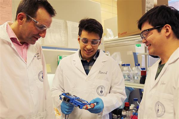 Toronto researchers develop handheld 3D skin printer to heal wounds