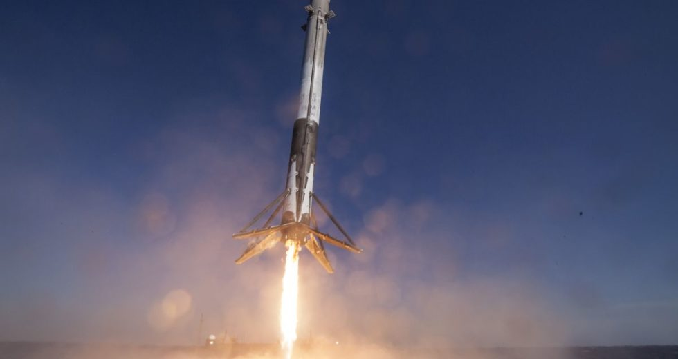 New Model of the Falcon 9 Rocket Debuted by SpaceX