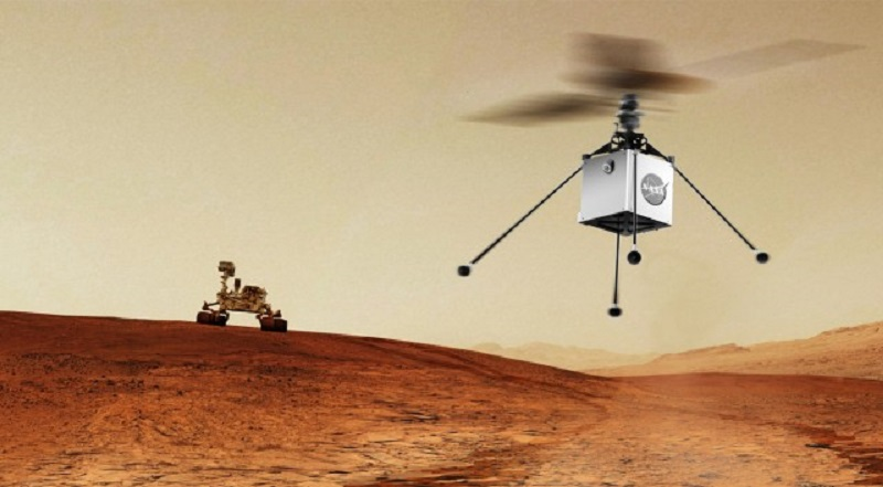 Mars Helicopter Is The Future Project NASA Plans On Launching In 2020, Along With The Mars 2020 Rover