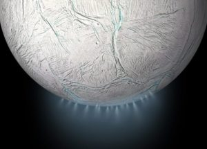 Enceladus, A Moon Of Saturn, Contains Carbon-Rich Organic Molecules And Might House Microbial Life