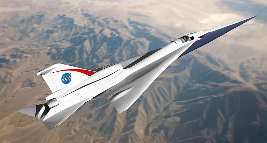 Pesawat supersonic terbaru X-59 Quesst, dengan nilaia kontrak $247 juta kepada Lockheed Marthin.