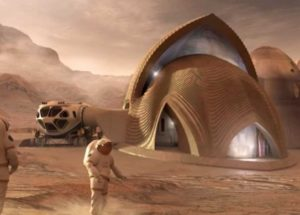 A 3D printing contest is organized by NASA to see how we'll design our homes on Mars