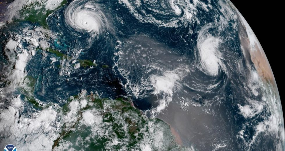 Hurricane Florence Satellite Images Revealed Rare Phenomenon Over The Atlantic
