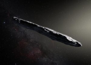 """""""Oumuamua"""" Might Be APiece of Alien Technology Sent Here To Explore Our Solar System"""