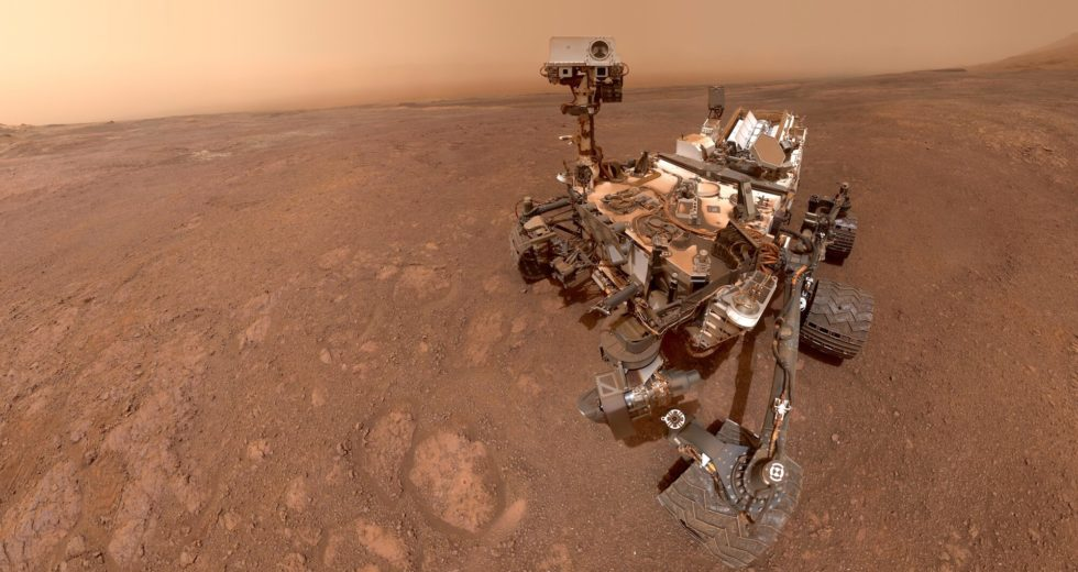 NASA's Curiosity Rover Spots Colourful Clouds on Mars