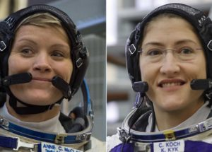 First All-Female Spacewalk In History To Take Place Soon