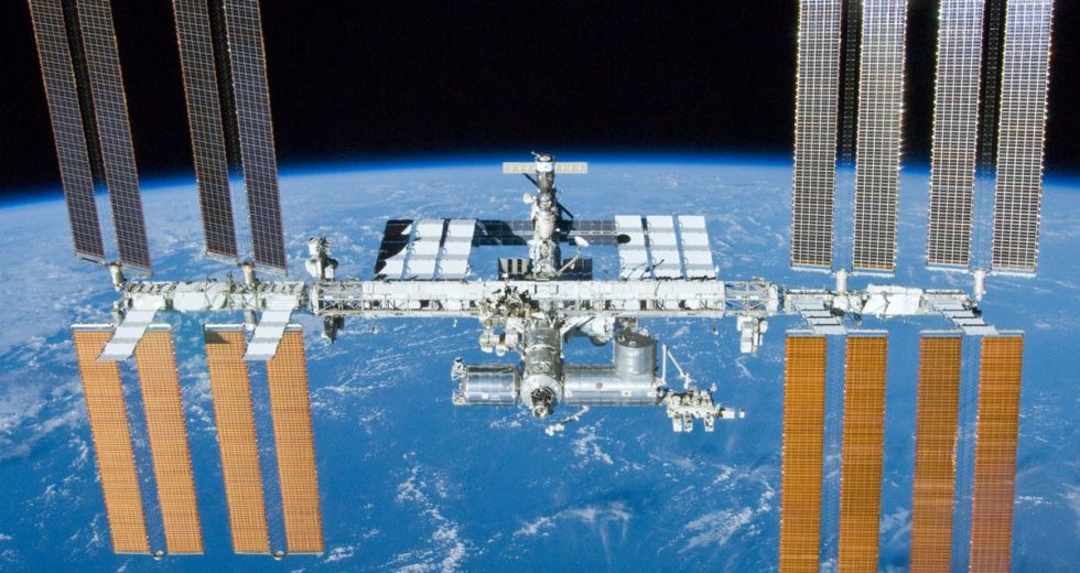 Space Debris Damages the International Space Station