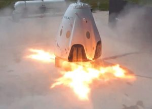 SpaceX Crew Dragon Test Ended Up With A Small Explosion