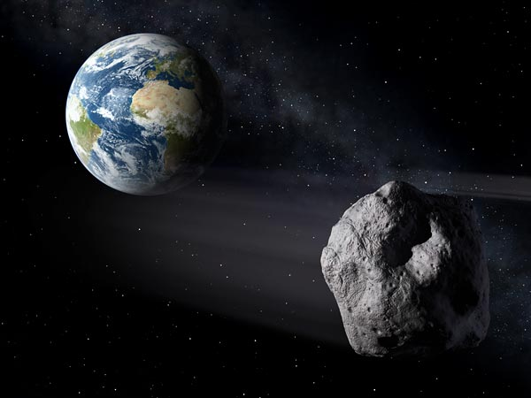 Asteroid Passed By Earth Dangerously Close