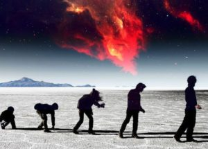 Could Exploding Stars Be The Key Factor of Human Evolution?