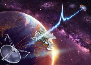 Fast Radio Bursts Signals Identified As Coming From A Galaxy At 3.6 Billion Light Years Away
