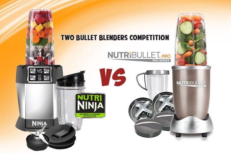 Nutri Ninja Pro vs. Nutribullet: Best Bullet Blender Comparison