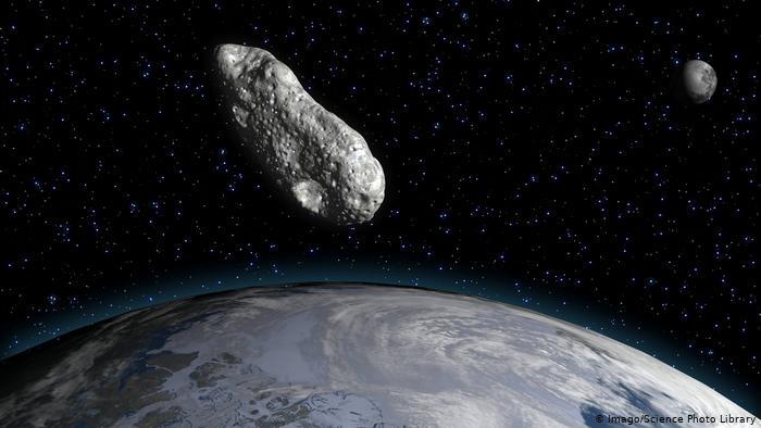 A former NASA pilot had a close encounter with an asteroid