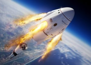 SpaceX Crew Dragon Capsule To Fly Two Astronauts To The ISS In May