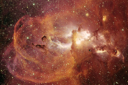 New Interstellar Gas Clouds Mapping Revealed Extreme Star Formation