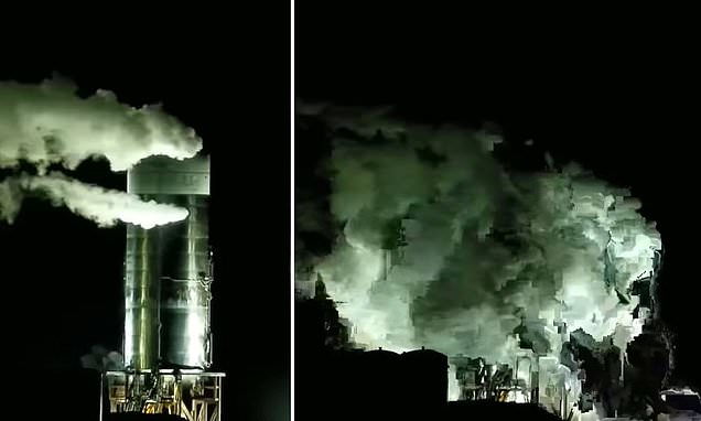 A Third SpaceX Prototype Has Blown up During a Pressure Test