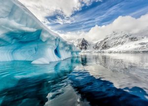 Behold the Disappearing Lake From Antarctica