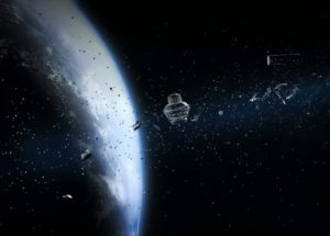 The Fourth-Biggest Piece of Space Debris fell into the Atlantic Ocean