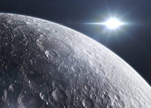 Carbon Emissions From The Moon Might Rewrite Theories On Its Formation