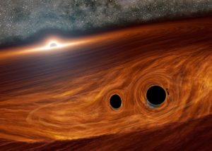 Black Holes Collide, Experts Note The Strangest And Most Abnormal Effect