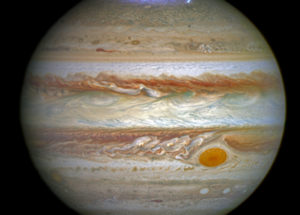 Jupier's Great Red Spot Highlighted In New Image Of Insane Storms