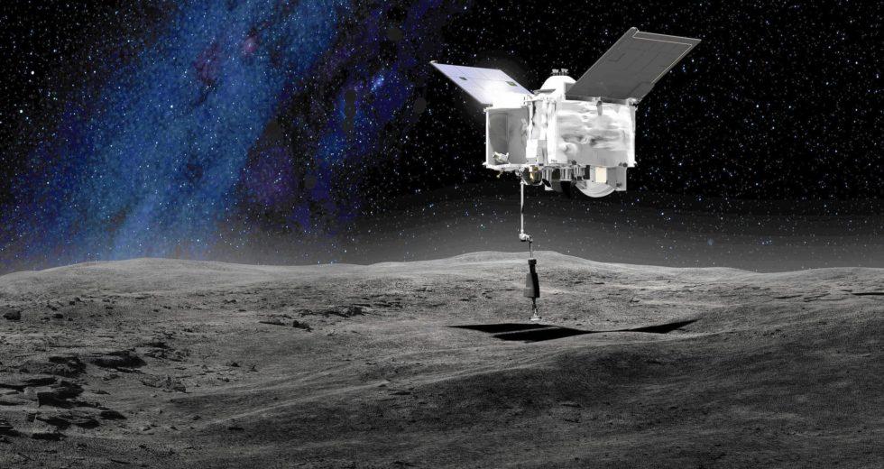 NASA To Collect Asteroid Samples Next Week
