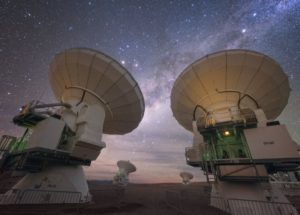 ALMA Telescope Captures Outstanding Image of Ancient Galaxy Ejecting Gas After Giant Collision