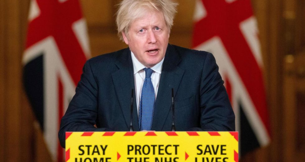 PM Boris Johnson Is Worried That the New Coronavirus Strain From the UK Has Become More Lethal