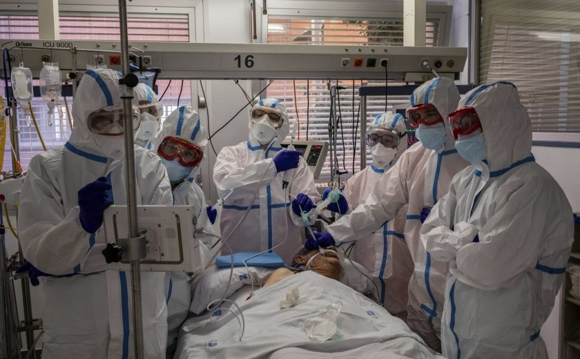 2 in 5 Americans Live Near Hospital ICUs That Are Close to the Breaking Point