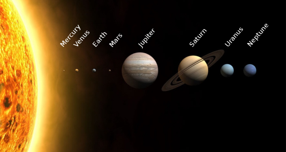 Five Humongous Planets Revolve Around Nearby Star