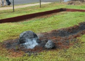 Meteorite Discovered in School Playground Catches the Interest of Many